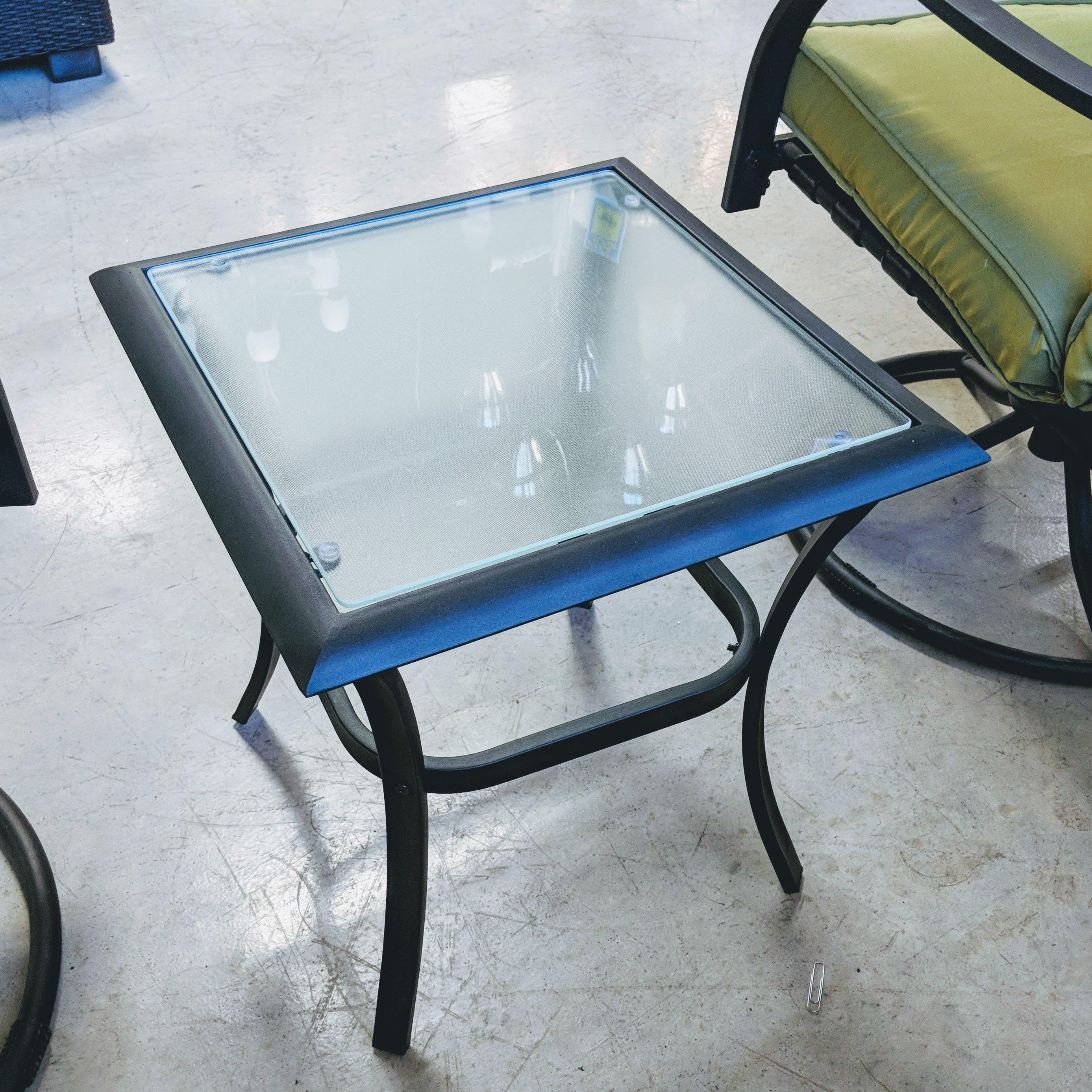 Deep Seat 3 Piece Rock Chair Set with Cushion