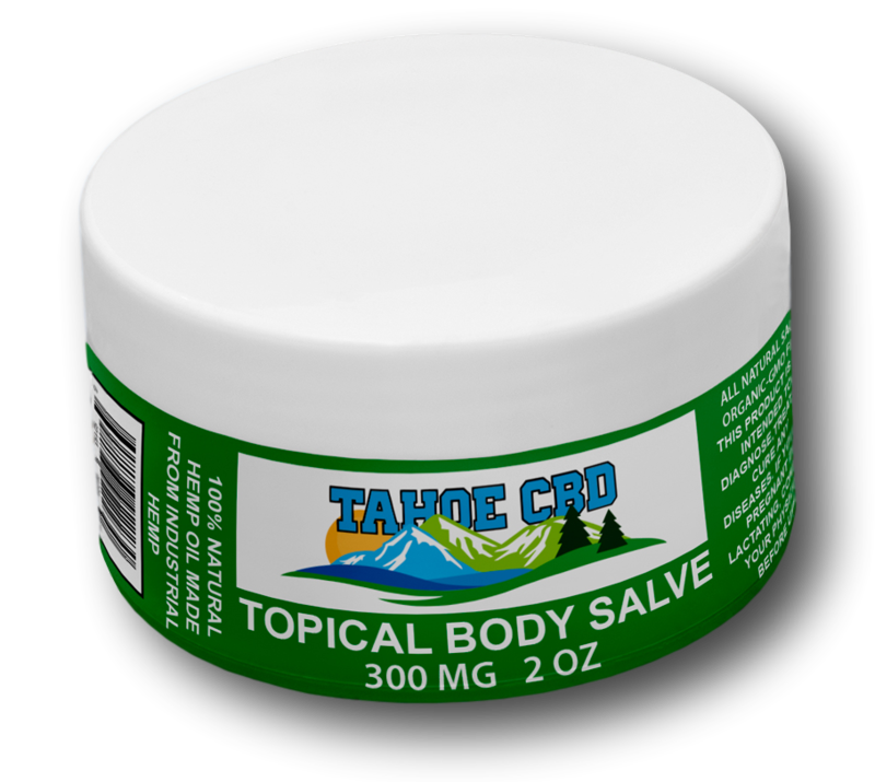 Tahoe CBD Full Spectrum Topical Salve 300mg 2oz