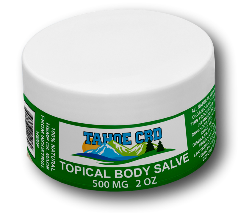 Tahoe CBD Full Spectrum Topical Salve 500mg 2oz
