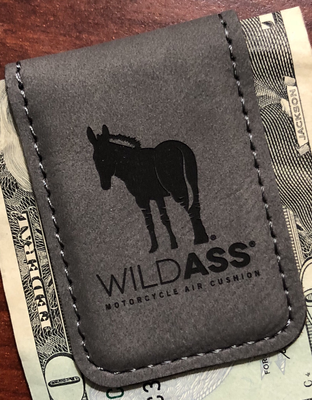 Wild Ass Money Clip - Gray/Black