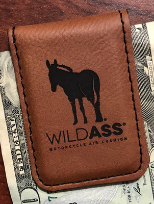 Wild Ass Money Clip - Raw/Black
