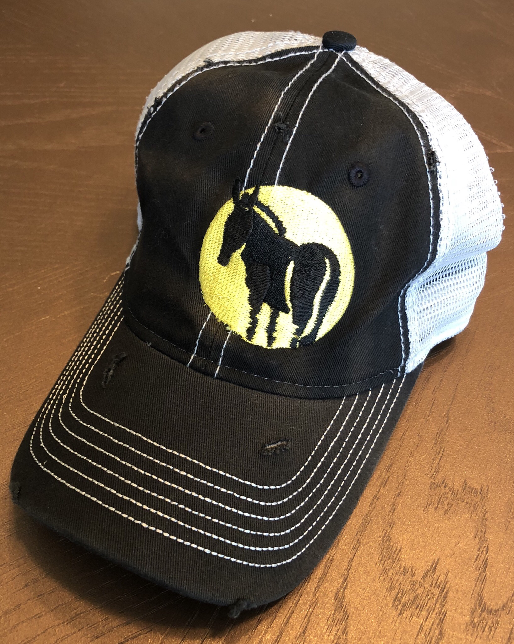 Wild Ass Logo Hat Black 00020