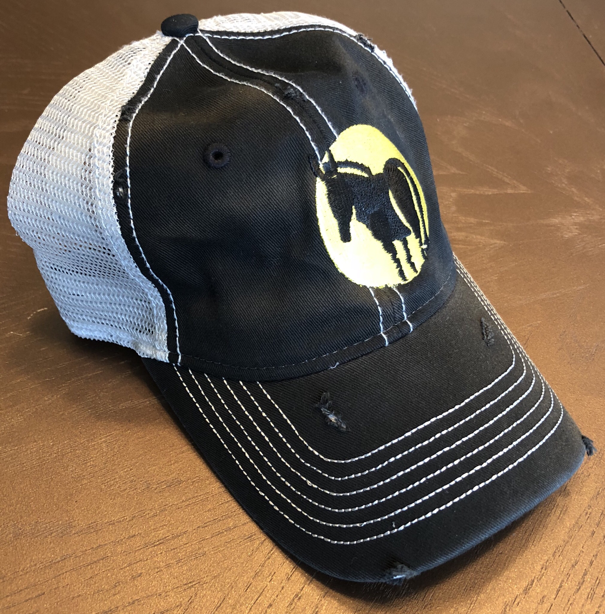 Wild Ass Logo Hat Black