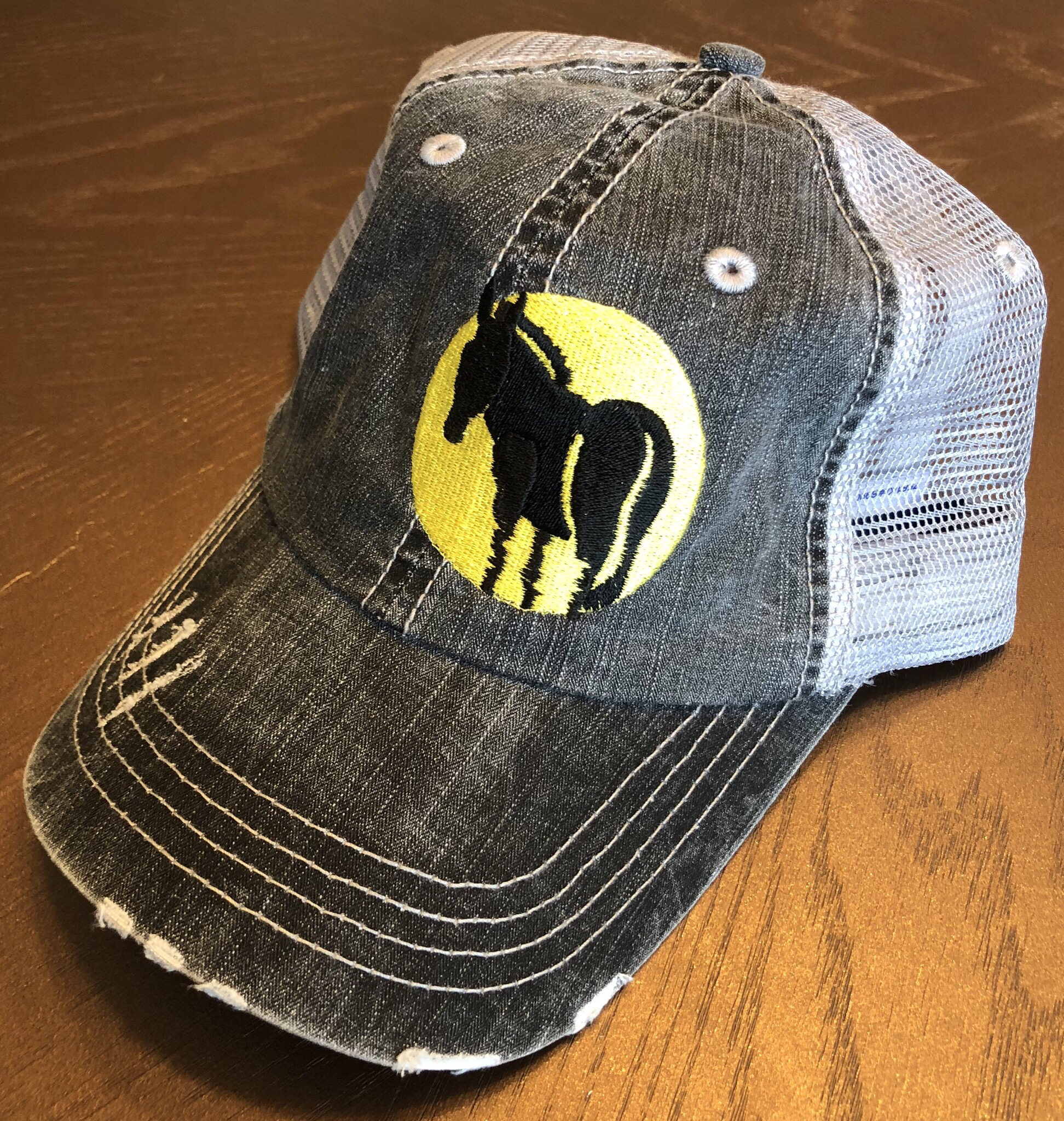 Wild Ass Logo Hat Gray 00024