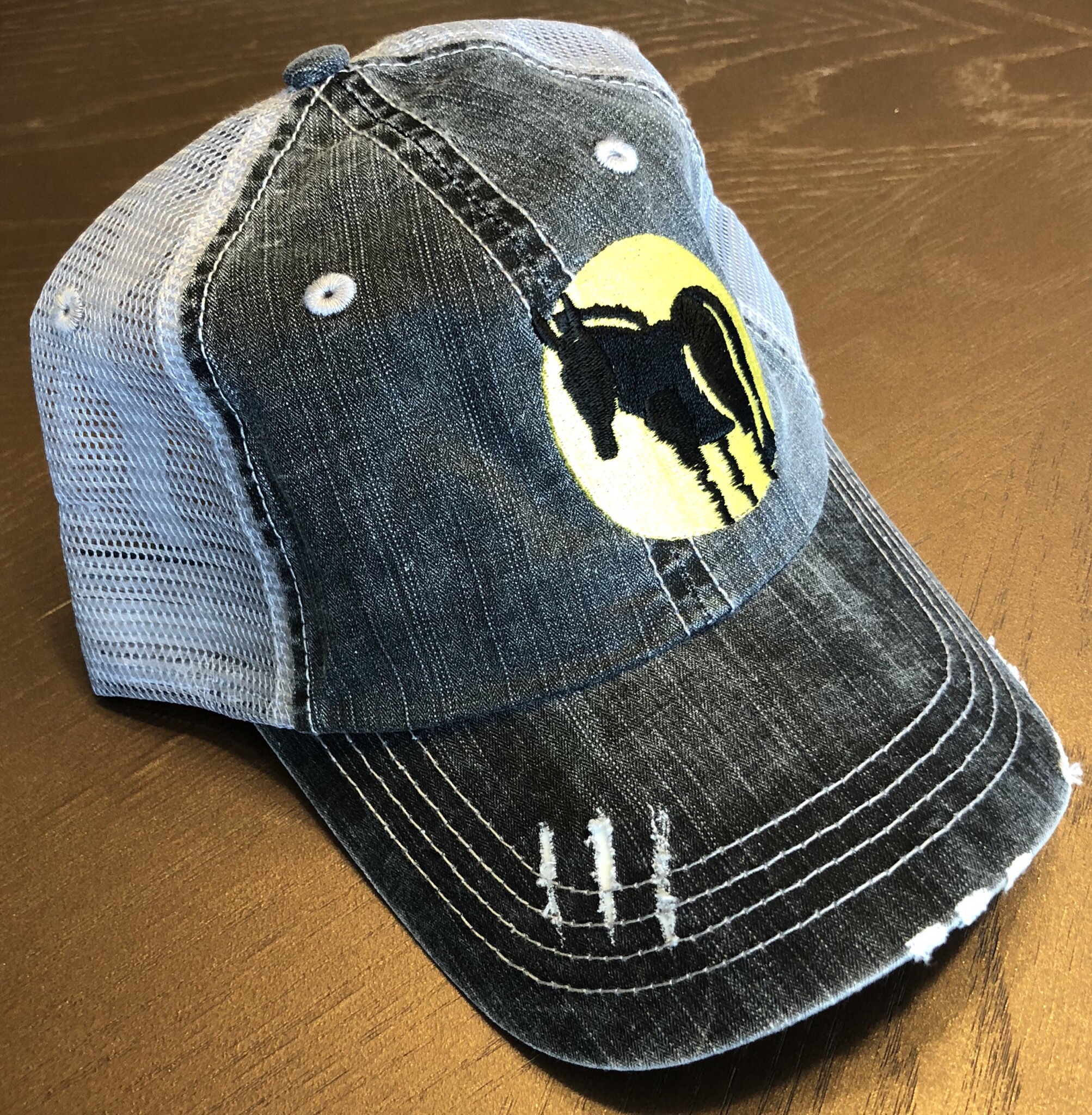 Wild Ass Logo Hat Gray