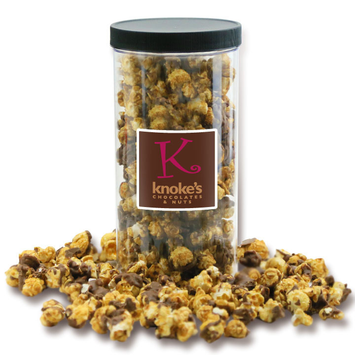 Gourmet Caramel Corn Dark Chocolate with Sea Salt