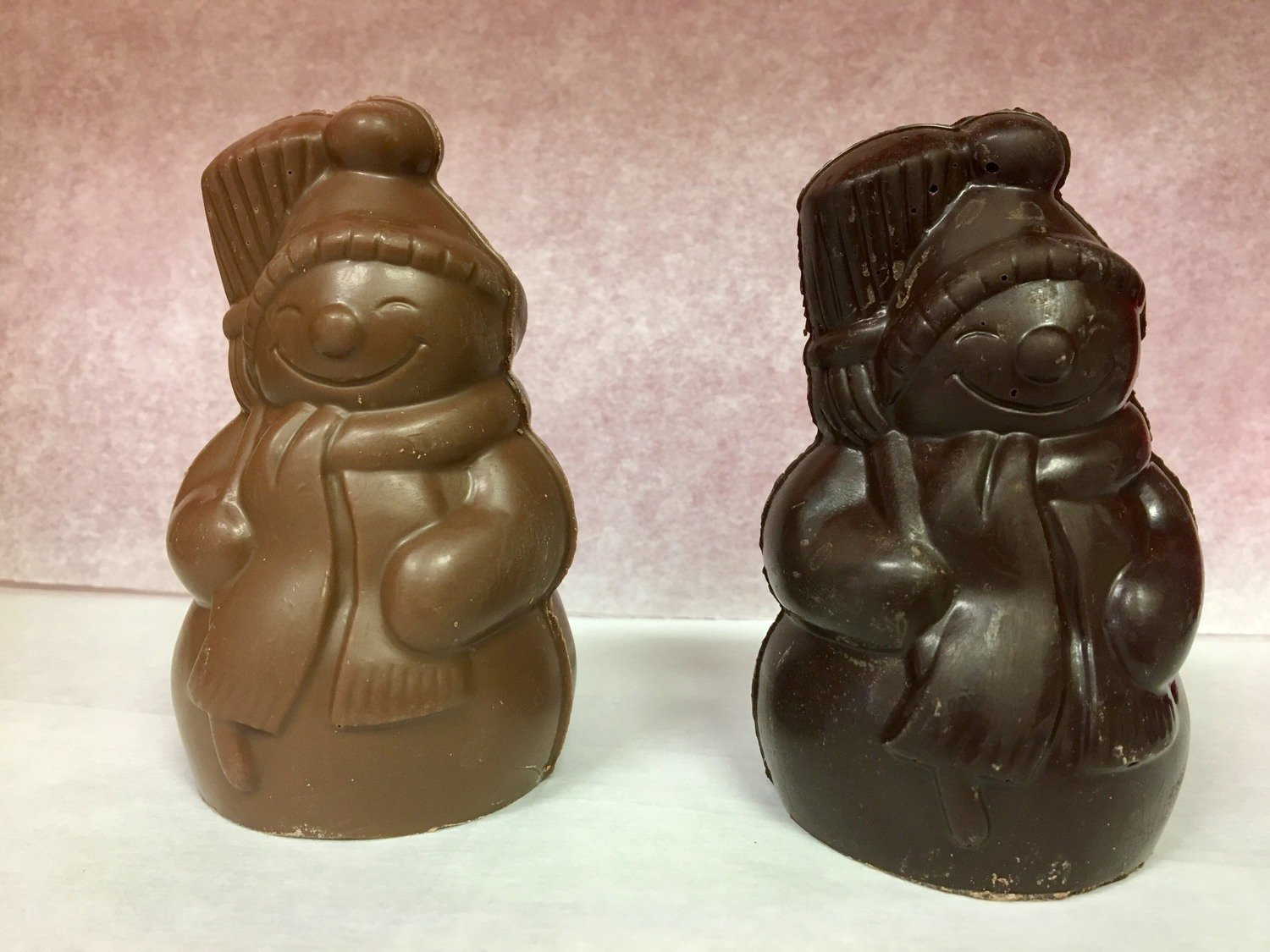 Solid Milk Chocolate Snowman