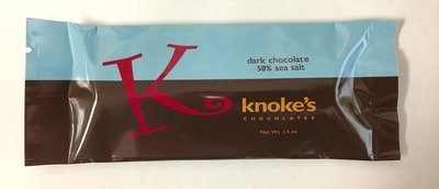 Knoke's 58% Sea Salt Chocolate Bar