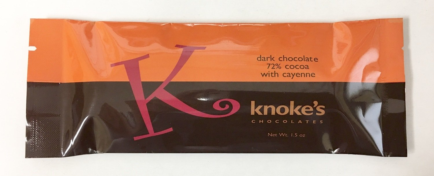 Knoke's 72% Cayenne Chocolate Bar