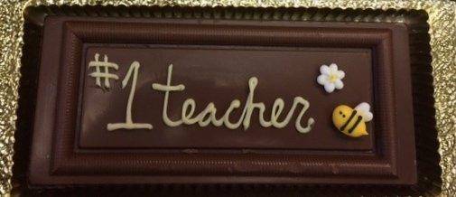 Personalized 58% Dark Chocolate Greetings Bar
