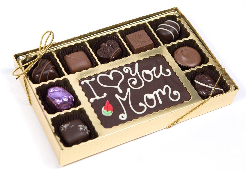 Personalized 58% Dark Chocolate Greetings Box