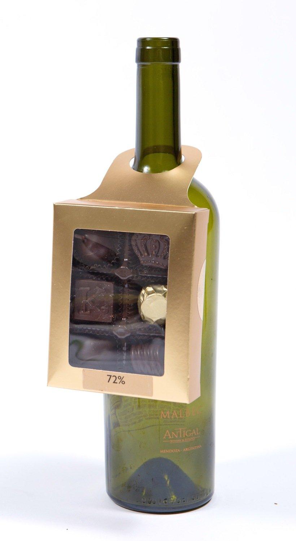 Robust Red Wine Pairing Bottle Hanger