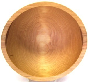 10 inch Beech Bowl - Bee's Oil Finish 110B