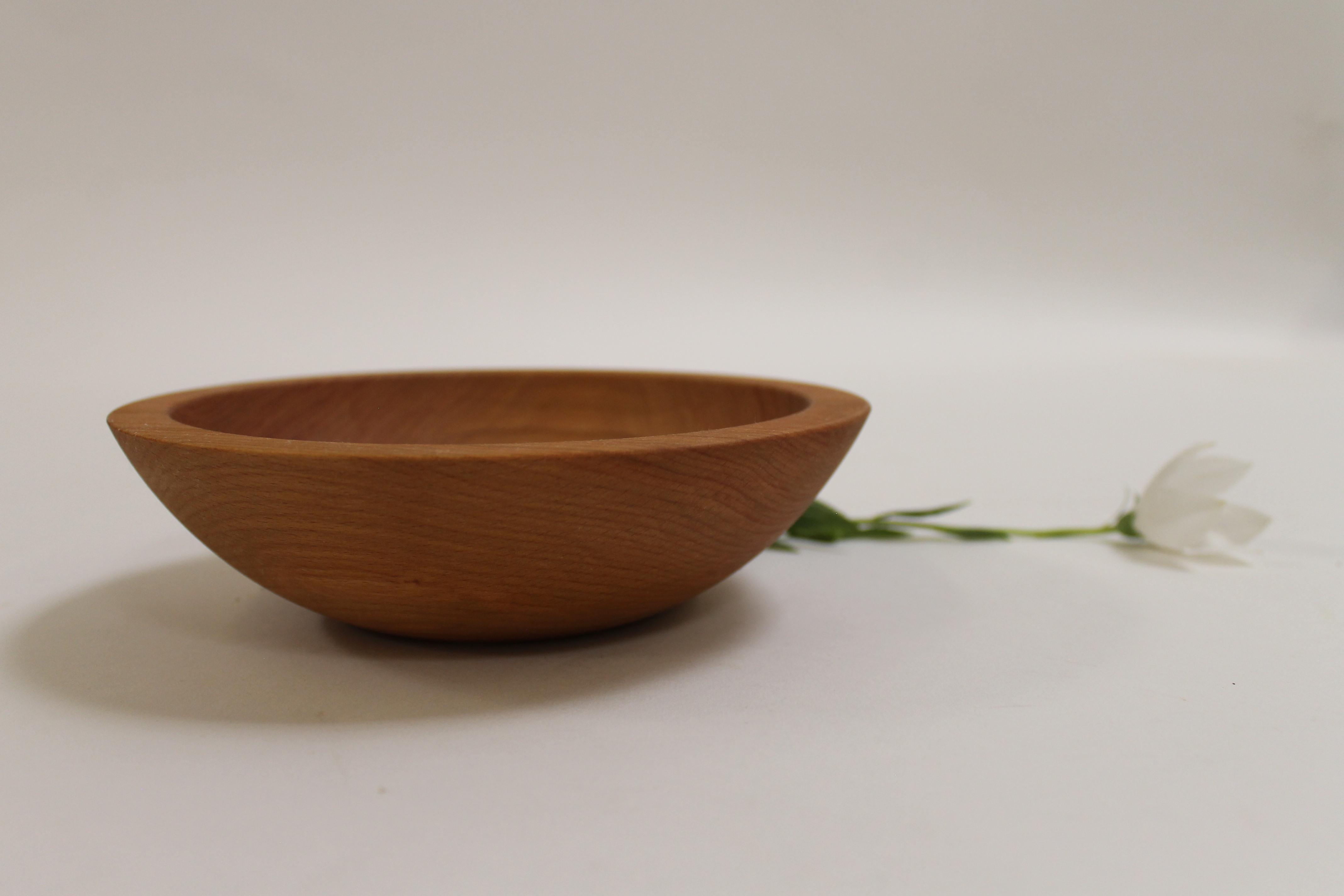7 inch Beech Bowl - Bee's Oil Finish 107B