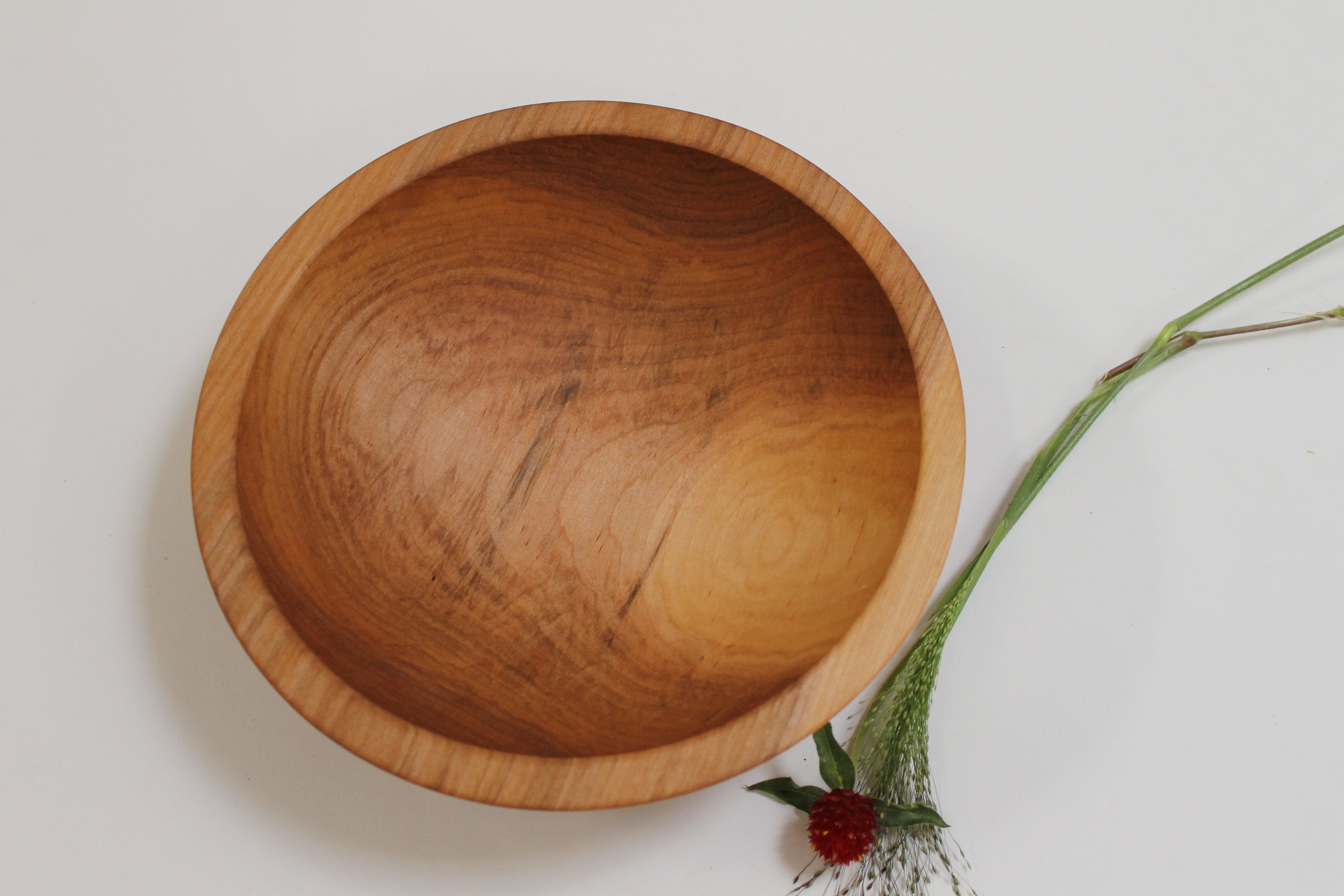 9 inch Maple Bowl - Bee's Oil Finish M109B