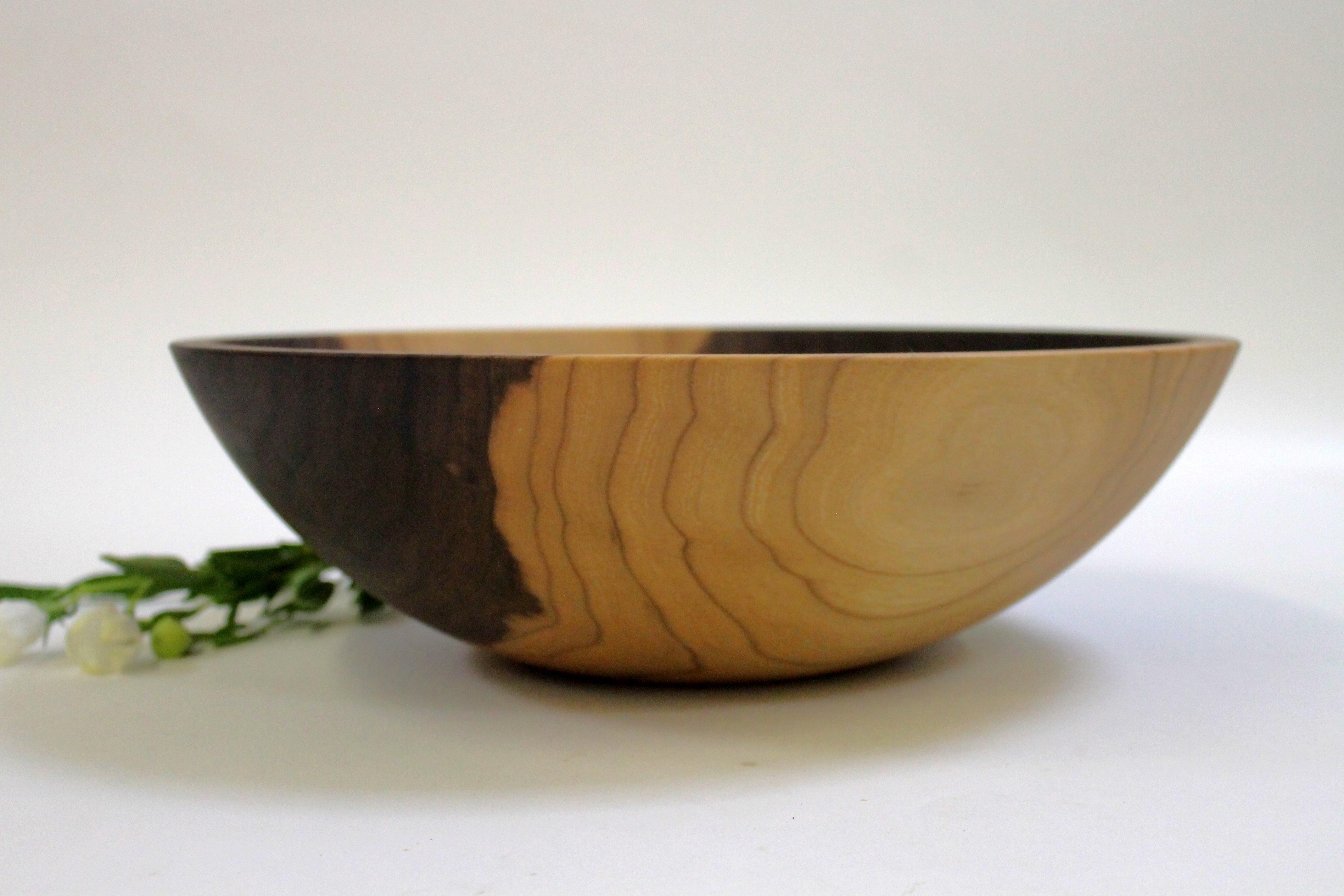 15 inch Walnut Bowl - Bee's Oil Finish W115B