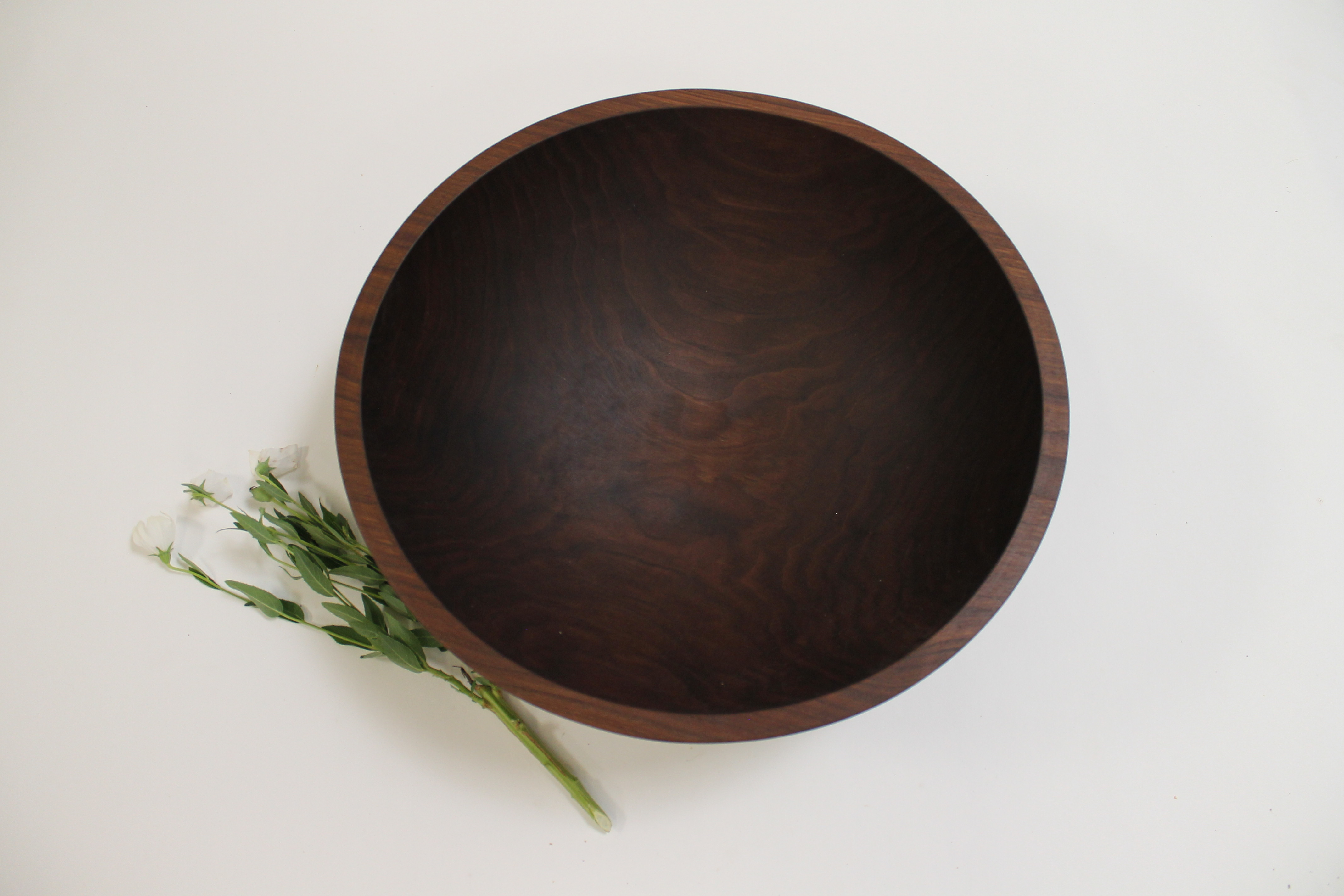 17 inch Walnut Bowl - Bee's Oil Finish W117B
