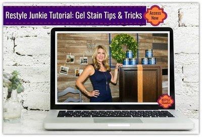 Gel Stain Tips & Tricks - Refinishing Your Cabinets w/ Java, Antique Walnut, & more