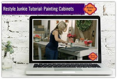 Painting Your Cabinets from Prep to Reinstalling with General Finishes Milk Paint