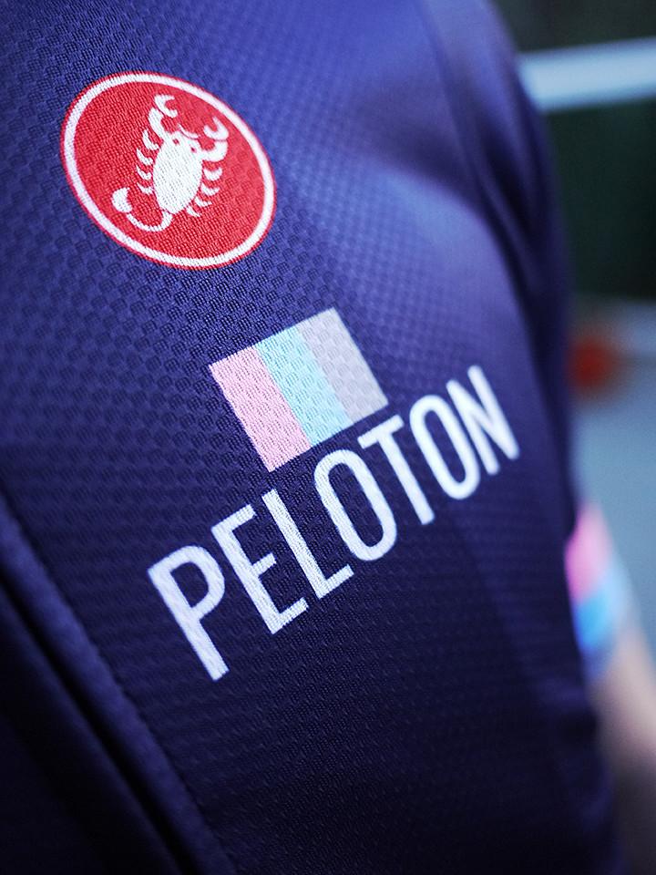 2019 PELOTON X CASTELLI Blue Kit