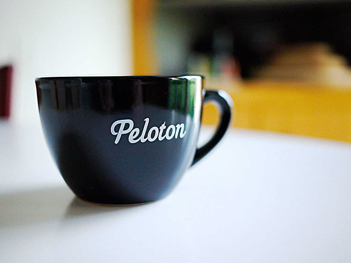 Peloton Classic Black Coffee Cup 2-Pack