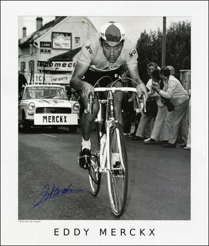 Horton Collection 1970 Merckx TdF Signed Print