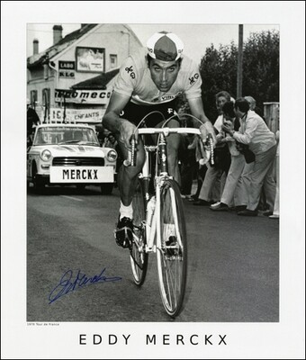 Horton Collection 1970 Merckx TdF Signed Print