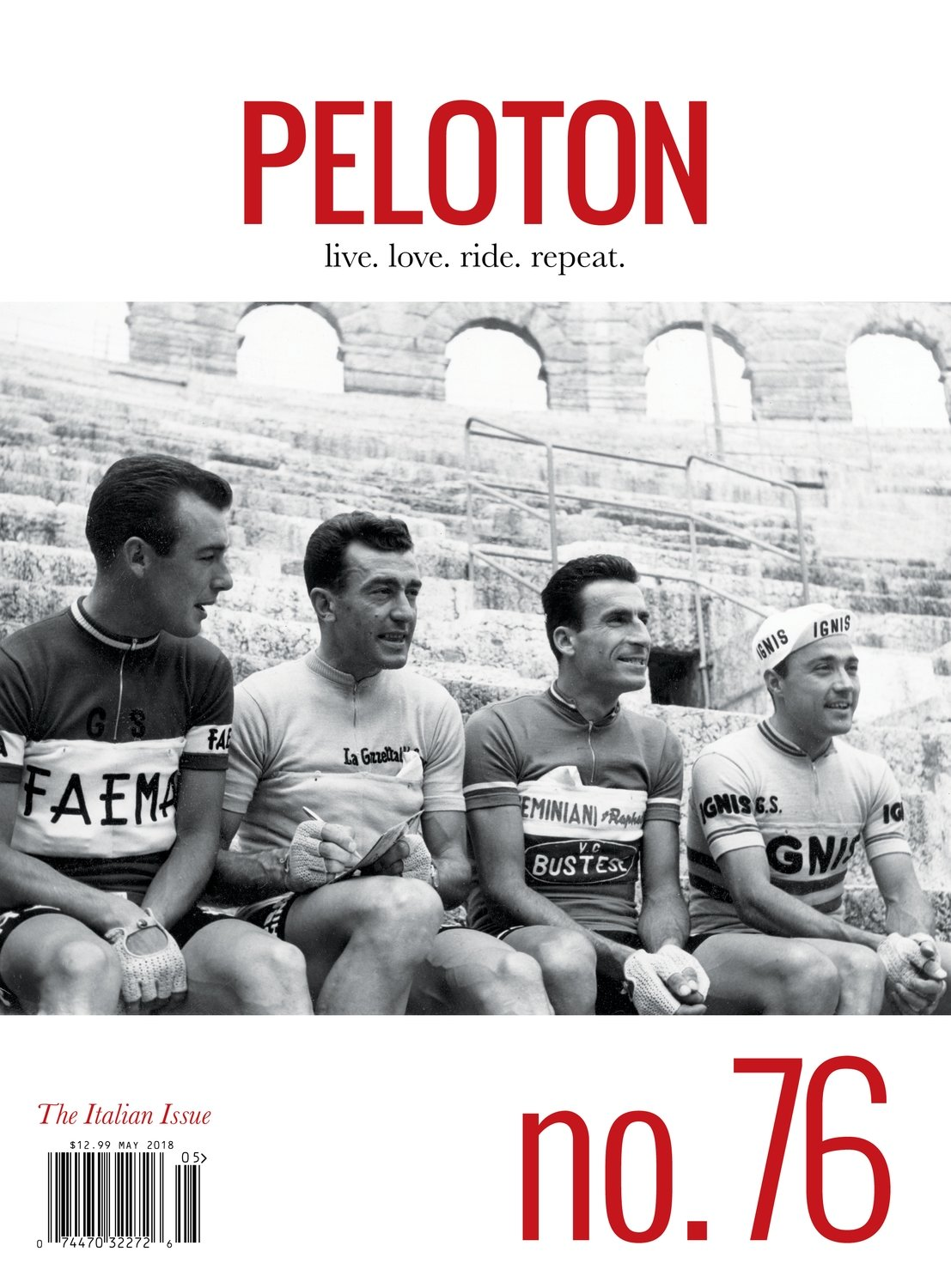 PELOTON ISSUE 76