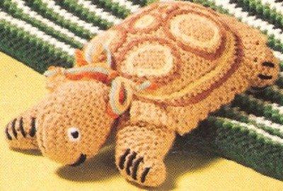 Vintage Crochet PATTERN to make Billy Goat Stuffed Soft Toy Animal BarnGoat