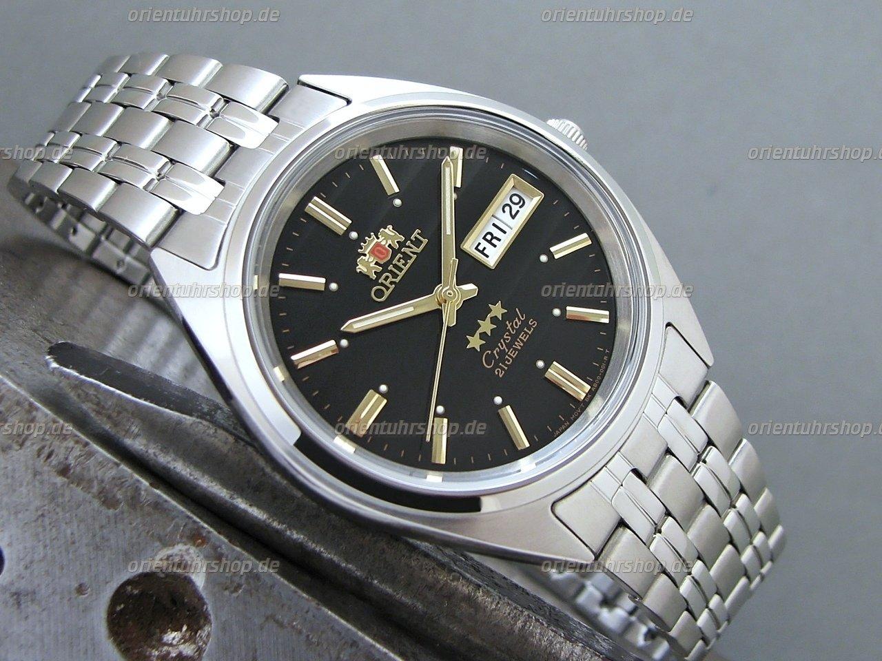 Orient 3 Stars Automatik Herrenuhr FAB0000DB9