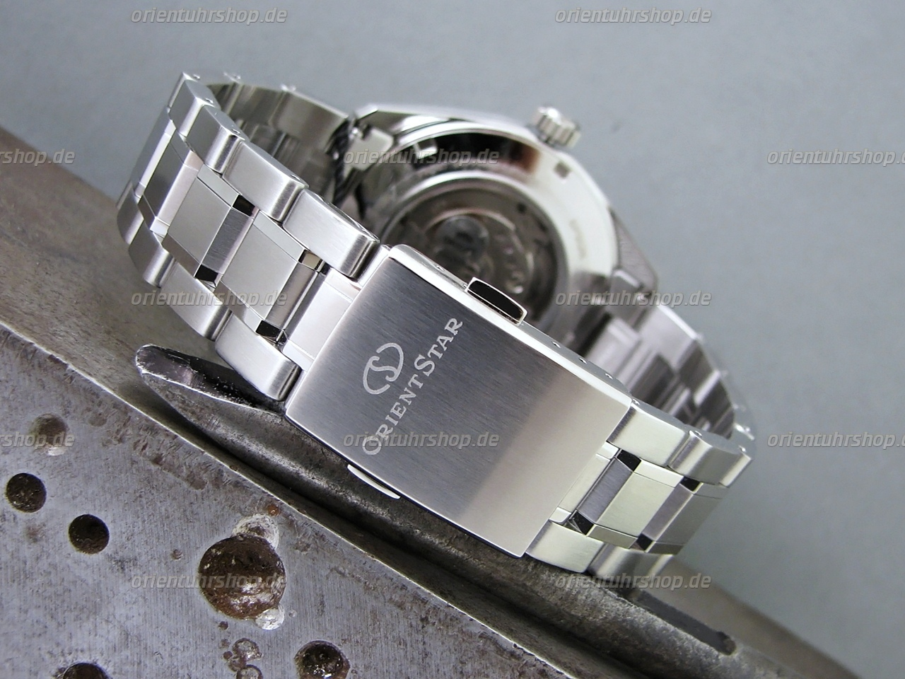 Orient Star Open-Heart Automatik Herrenuhr RE-AV0003L00B