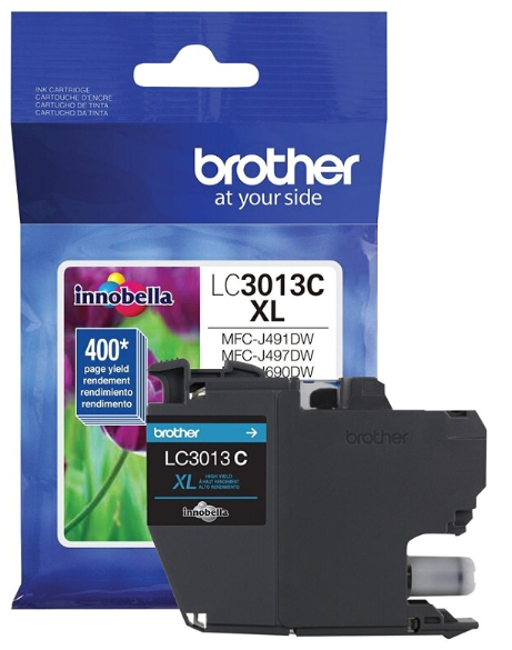 Brother LC3013Y - High Yield - cyan