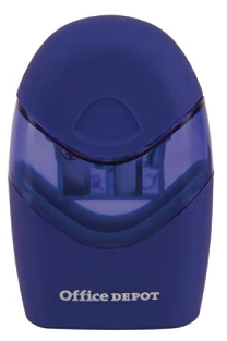Office Depot Brand Double Hole Manual Pencil Sharpener