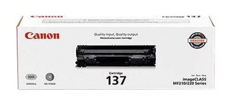 Canon CRG 137 Black Toner Cartridge