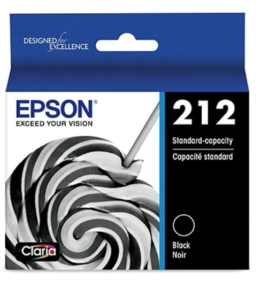 Epson 212 - Black - original - ink cartridge - for Expression Home XP-4100; WorkForce WF-2830