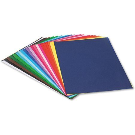 "Pacon Spectra Assorted Color Tissue Pack, 12"" x 18"", 25 Colors, Pack Of 100 Sheets"