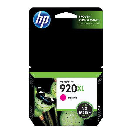 HP 920XL, Magenta Original Ink Cartridge (CD973AN)