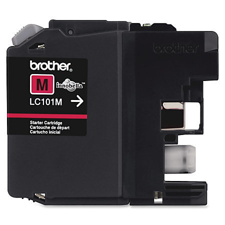 Brother® LC101-M Magenta Ink Cartridge