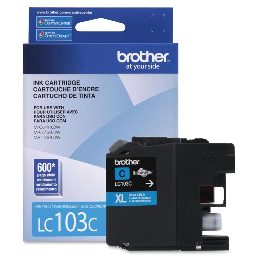 Brother LC103C Ink Cartridge - Cyan