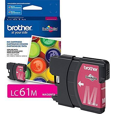 Brother® LC61M Magenta Ink Cartridge