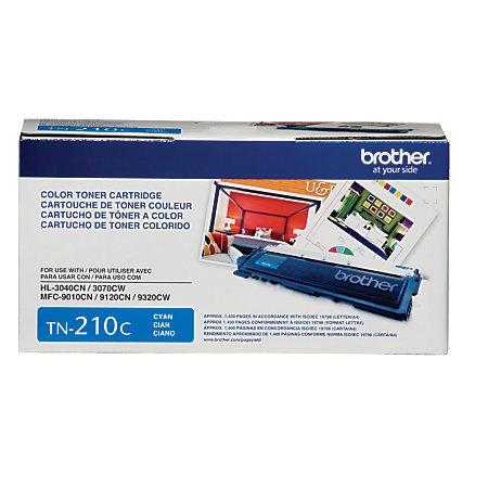 Brother® TN-210C Cyan Toner Cartridge