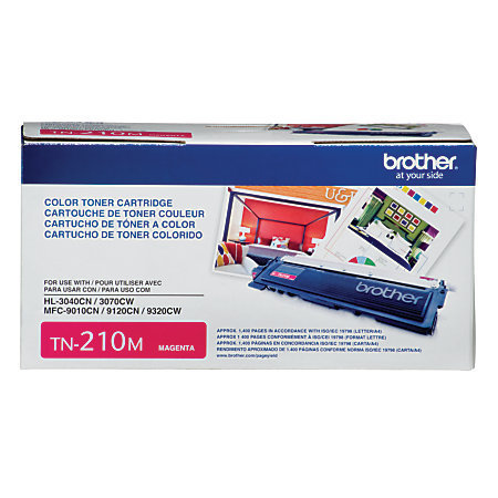 Brother® TN-210M Magenta Toner Cartridge