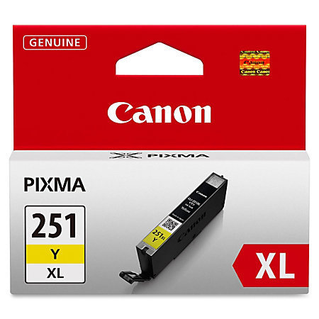 Canon CLI-251XL High-Yield Yellow Ink Tank (CLI-251Y XL)