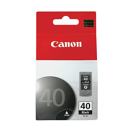 Canon PG-40 ChromaLife 100 Black Ink Cartridge (0615B002AA)