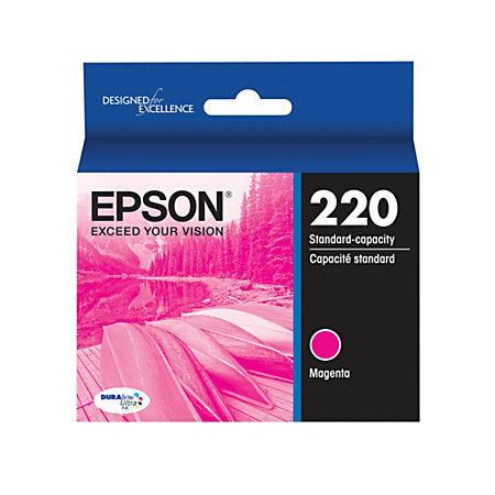 Epson® DuraBrite® Ultra Ink Cartridge, Magenta, T220320-S