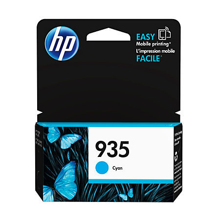 HP 935 Cyan Ink Cartridge (C2P20AN#140)