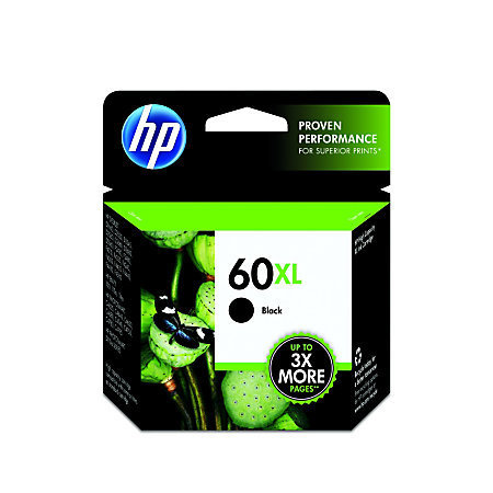 HP 60XL, 50 Recycled, Black Original Ink Cartridge (CC641WN)