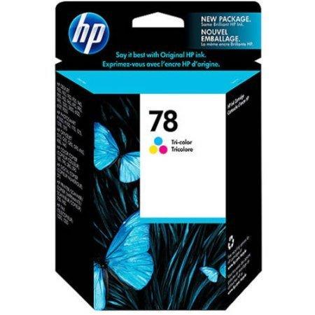HP 78, Tricolor Original Ink Cartridge (C6578DN)