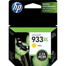 HP 933XL, Yellow Original Ink Cartridge (CN056AN)