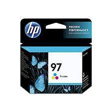 HP 97, Tricolor Original Ink Cartridge (C9363WN)